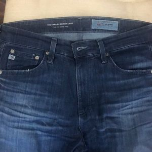 29 AG Jeans Farrah Skinny Crop HR (Medium Dark)